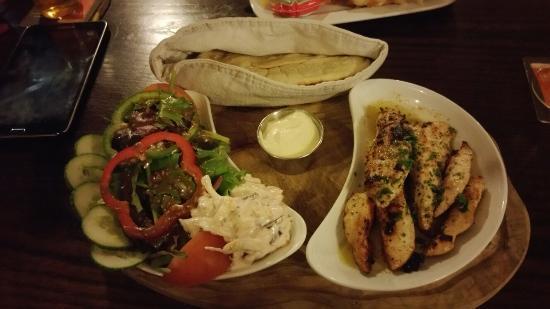 Poughill, UK: Beautiful food night after night