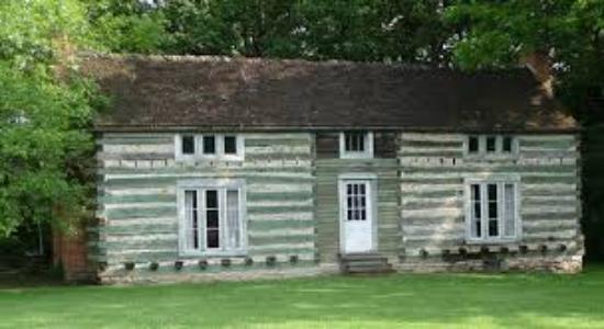 Ulysses S. Grant's Cabin at Grant's Farm!!
