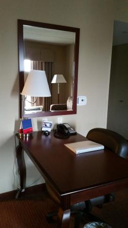 Hampton Inn and Suites Madison West: Work desk