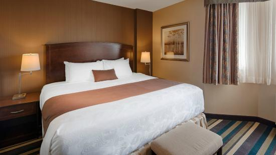 BEST WESTERN PLUS Winnipeg Airport Hotel: King Suite bedroom