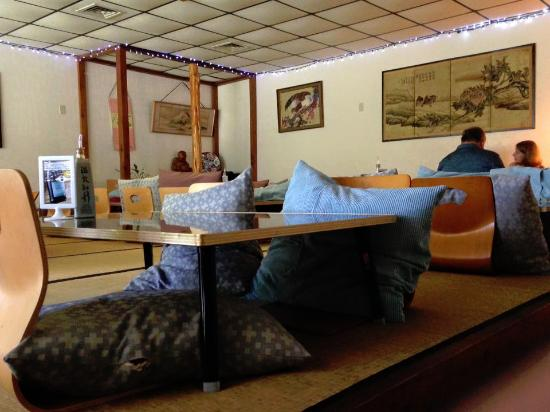 Fujiya Japanese Garden Restaurant : Traditional seating part of the restaurant