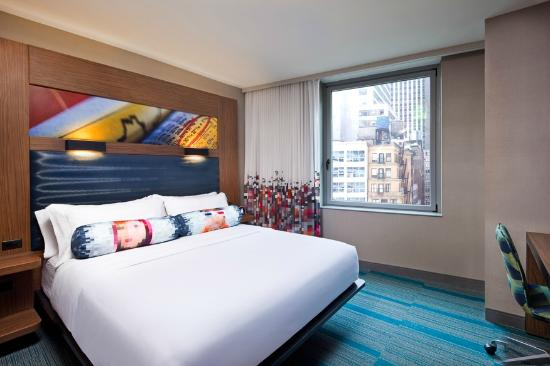 Aloft Manhattan Downtown Financial District Hotel