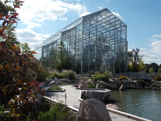 A Welcome Sight In January Picture Of Nicholas Conservatory And Gardens Rockford Tripadvisor