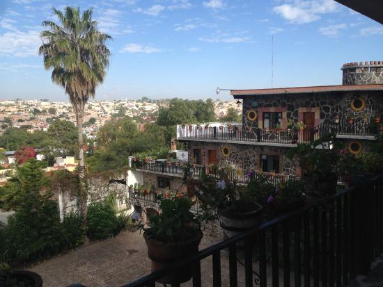 Hotel Posada de las Monjas: Balcony sunset city view