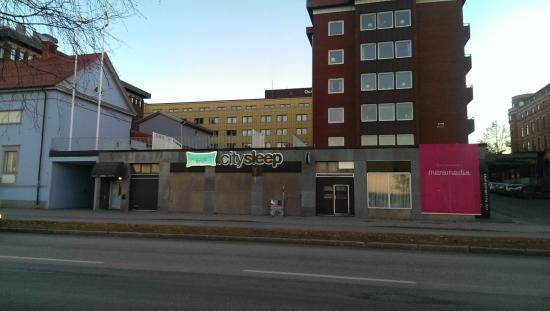CitySleep: ด้านหน้าโรงแรม