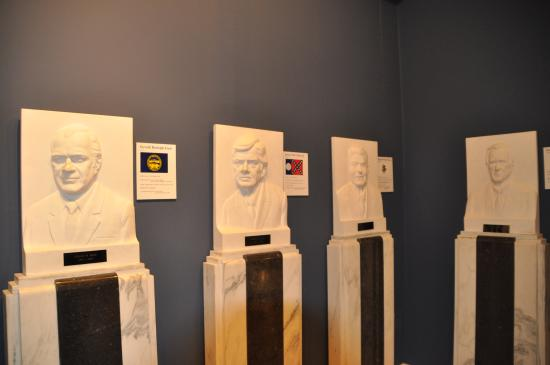 Proctor, VT: Presidential busts