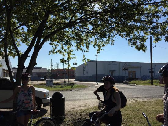 Ninth Ward Rebirth Bike Tours : An excellent tour and exercise overall! Best tour by far in the Nawlins!