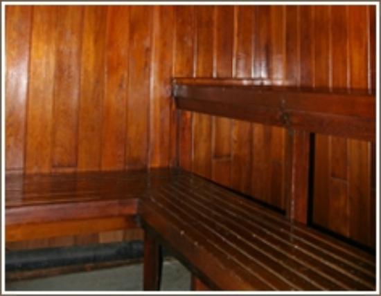 Slumber Lodge Motel: Sauna