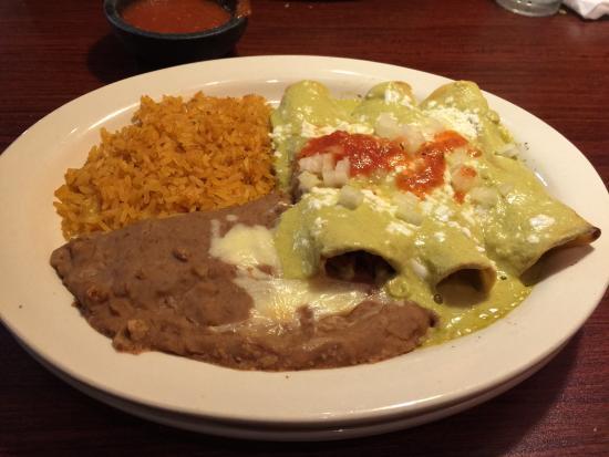 Crozet, VA: Enchilada verdes