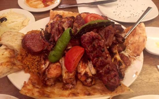 Authentic turkish cuisine picture of mazhil restaurant for Authentic turkish cuisine
