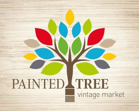 Painted Tree Vintage Market Logo