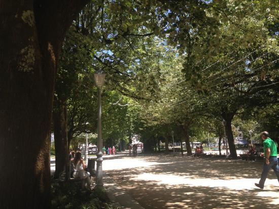 P.R Hortas: Gorgeous park a couple of blocks away