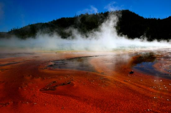 Midway Geyser Basin: Grand Prismatic Spring