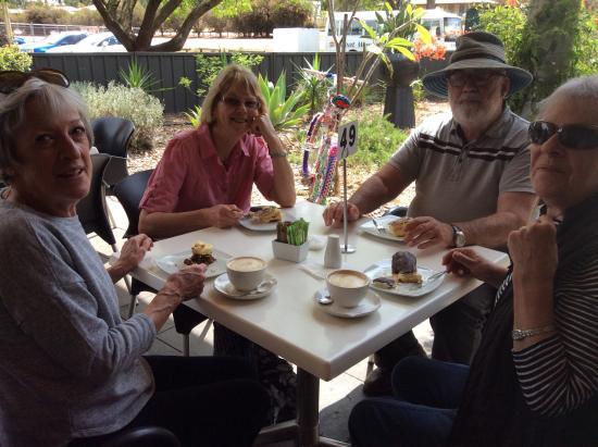 Bindoon, أستراليا: Outside seating