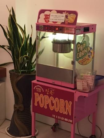 Pop Hotel 1 popcorn machine