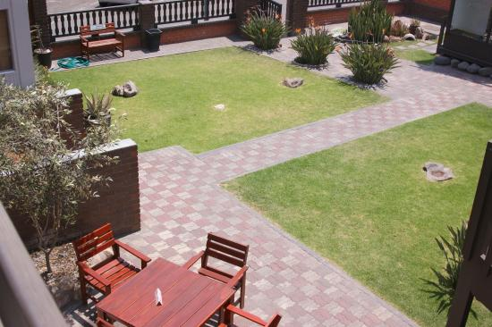 Hotel Pension Rapmund: view from the balcony