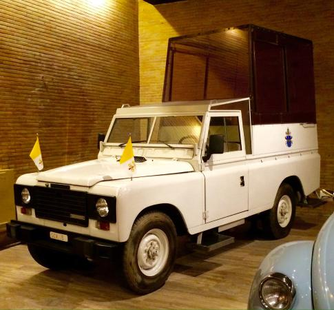 The Original Popemobile Picture Of Vatican Museums