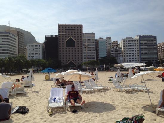 Jw Marriott Hotel Rio De Janeiro Copacabana Beach In The Background