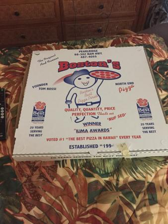 Kaimuki's Boston Style Pizza