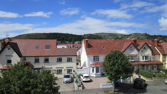 Cornerways Guesthouse : View of The Great Orme from the bedroom