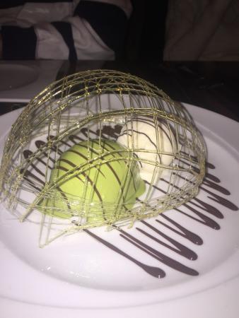 Sumosan Restaurant & Jbar: green tea ice cream