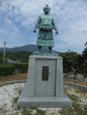 Tokunoshima-cho, اليابان: 朝汐太郎像