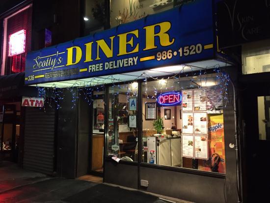 Scottys Diner On Lexington Open 24 Hours