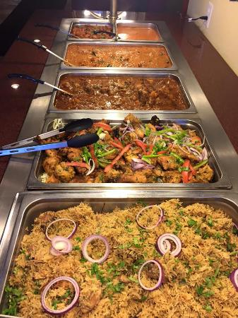 Veg Food At Lunch Buffet Picture Of Cafe Bahar San