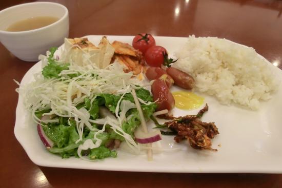 Toyoko Inn Busan No.1: 無料朝食の一例
