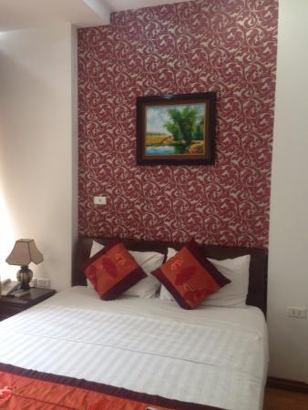 Hanoi Ciao Hotel: Hotel room