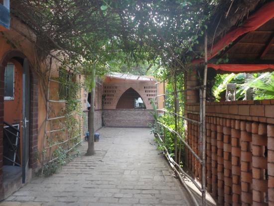 Villa Soudan: l'entree