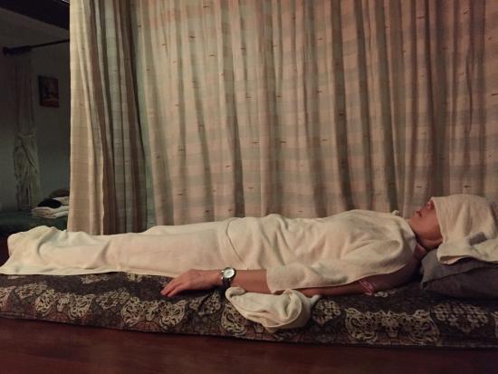 Jasmine Massage: フットマッサージです!