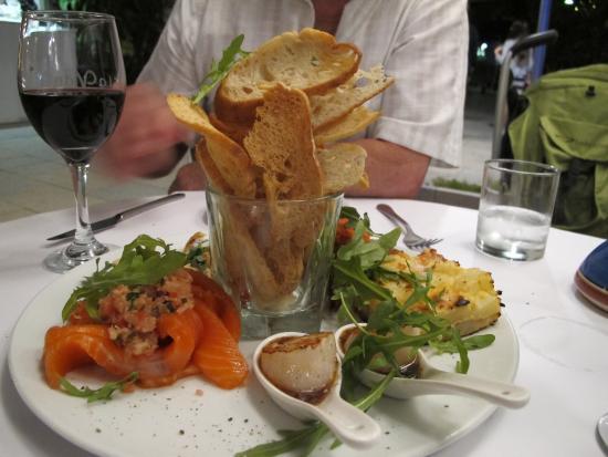 La Vida Restaurant : Tapas Plate For 2, La Vida, Noosa