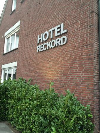 Hotel Reckord: Goed hotel, lekker gegeten!!