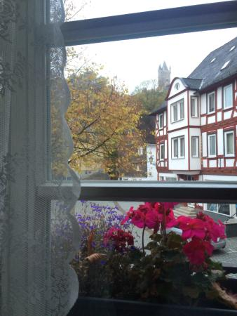 Dillenburg, Alemania: View from our room