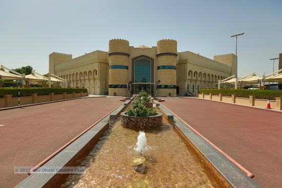 Abu Dhabi Country Club: Main Building