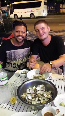 Dreams Hotel Danang: Enjoying scalops