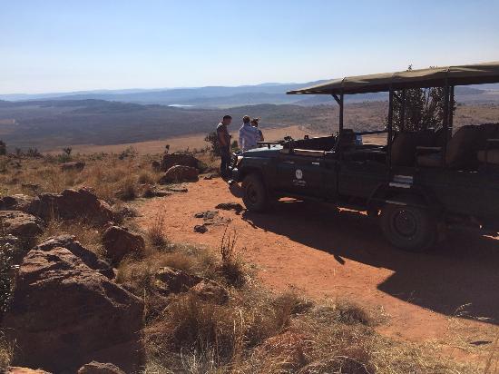 Mhondoro Game Lodge: great views!