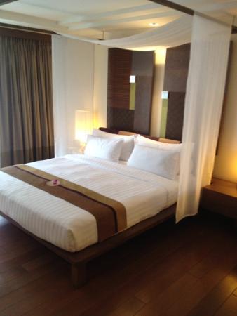 RarinJinda Wellness Spa Resort: Nice bed