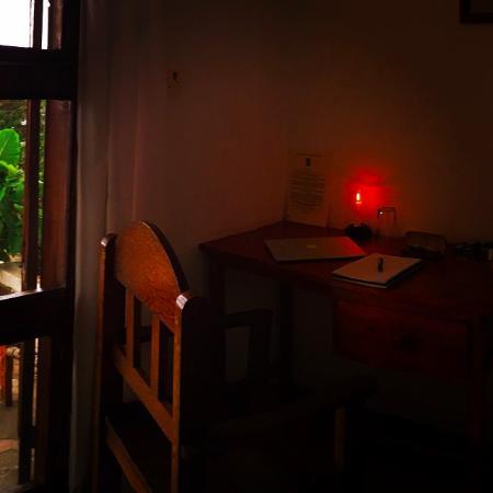 Bagamoyo Country Club: work station