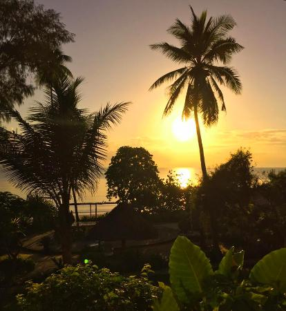 Bagamoyo Country Club: sunrise