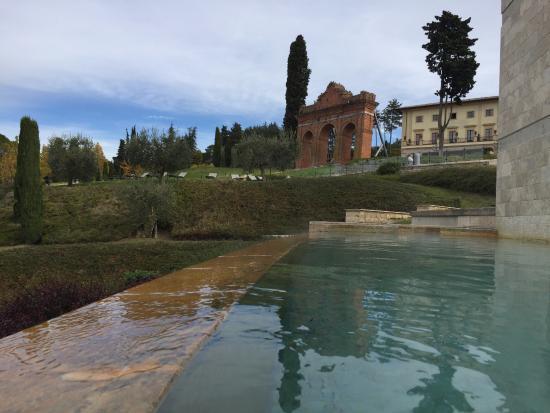 Vista dalla piscina termale - Picture of Fonteverde, San Casciano ...