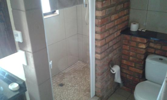 Stephans Guesthouse: Bathroom with no door