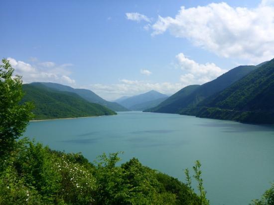 Tiflis, Georgia: Жинвальское водохранилище