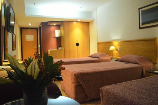South American Copacabana Hotel: Quartos