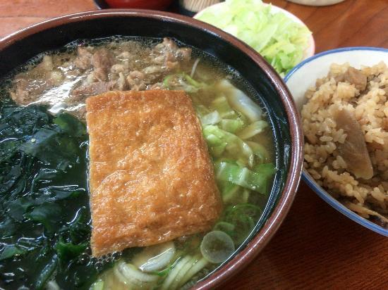 Menkyokaiden : 欲ばりうどん、炊き込みご飯