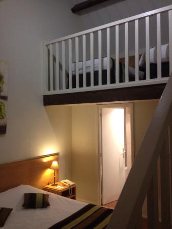 Chambre avec mezzanine dans la dépendance - Photo de Le Manoir ...