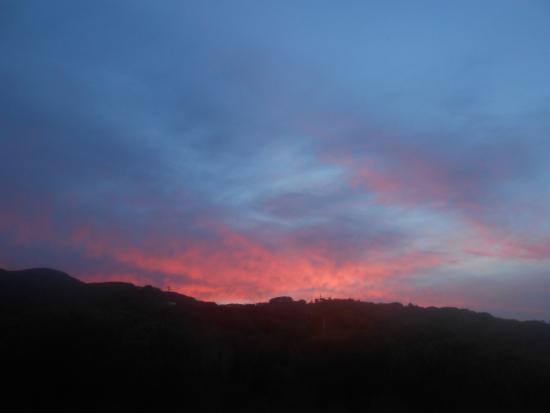 Parco delle Ginestre Appartamenti: tramonto dalla struttura