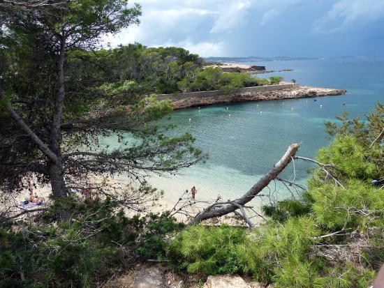 Beach Bungalows at Cala Gracioneta: Bucht