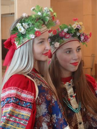 Far Eastern District, Russia: DANCING GIRLS